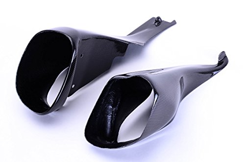 Bestem  CBBU-XB-AIC Carbon Fiber Ram Air Intake Covers (left + right) for Buell ()