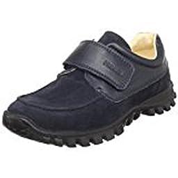 Primigi Walker-E Hook-and-Loop Shoe navy blue nubuck Size 37