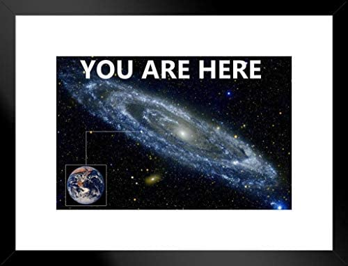 You Are Here Galaxy Retro Solar System Human Earth Location