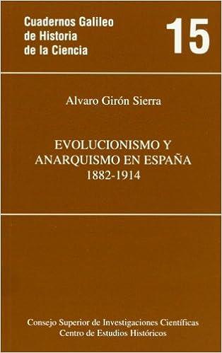 Evolucionismo y anarquismo en España 1882-1914 Cuadernos Galileo ...