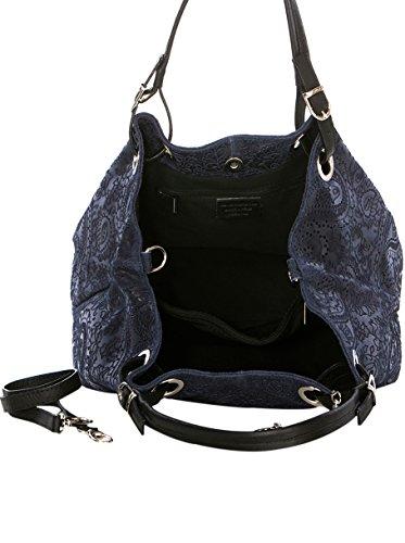 Azul Bolso Hombro Mia Wb125126 Mujer Asa Al Marino PTW7a4q