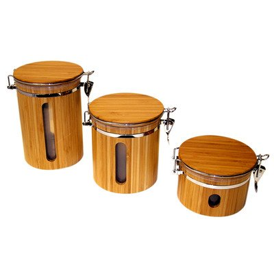 3 Piece Airtight Canister Set