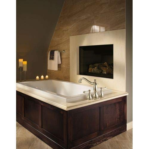 Chrome StandardPlumbing Kohler Delta T2797-LHP Cassidy 3-Hole Roman Bathtub Faucet Trim without Handles