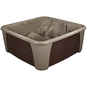 Essential Hot Tubs - Rainier - 24 Jets, Cobblestone/Esspresso Panels