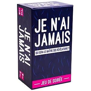 JE N'AI JAMAIS – Le Jeu des Révélations Entre Amis – Jeu de Société pour Animer Soirées et Apéros | Jeu de Cartes Adulte…