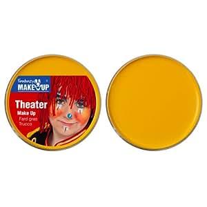 25 g de teatro de maquillaje, de color amarillo