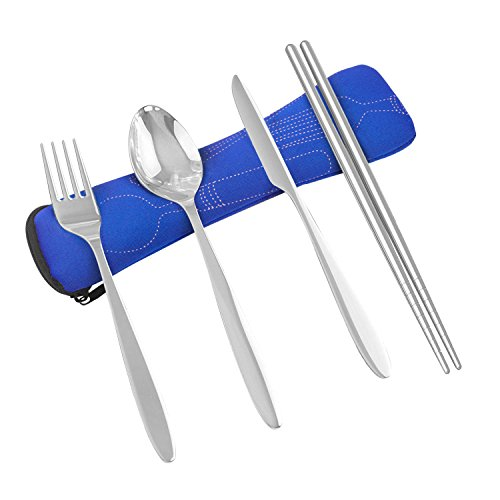 4-pieces-flatware-knife-fork-spoon-chopsticks-stainless-steel-lightweight-utensil-travel-camping-out