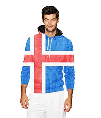 Men's 2018 Fashion Athletic Sweatshirts wooden cross vintage