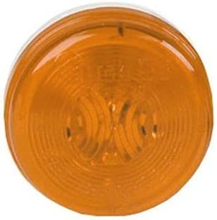 Truck-Lite Model 30 Marker Light Yellow 2 Round 30200Y by Truck-Lite