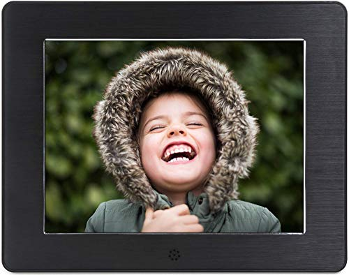Micca 8-Inch Digital Photo Frame High Resolution LCD, MP3 Music 1080P HD Video Playback, Auto On/Off Timer (Model: N8, Replaces M808z) (Certified Refurbished)