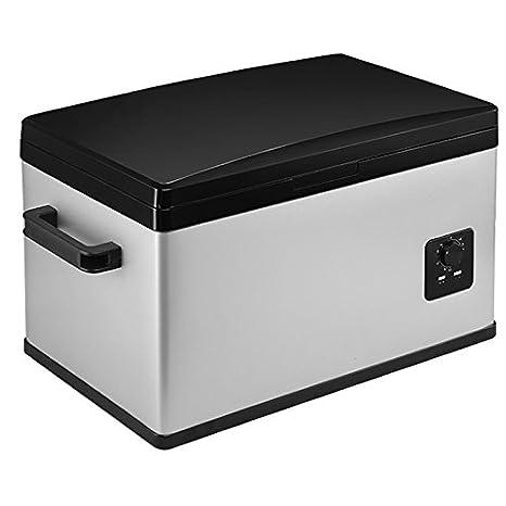 GUORZOM Portátil 30L Mini Congelador De Coche Congelador De Doble ...