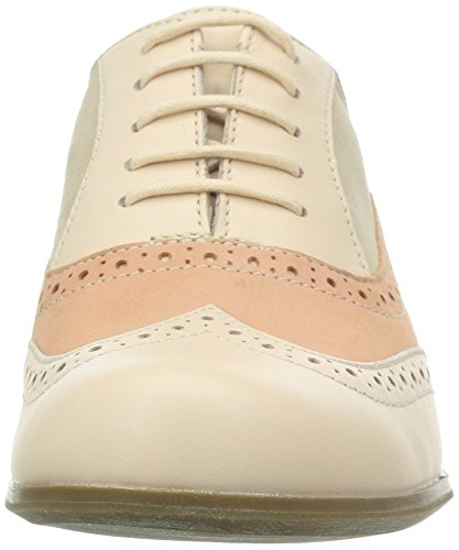 Clarks Hamble Oak - Zapatos Derby para mujer Rosa (Peach Combi)