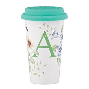 Lenox Butterfly Meadow Thermal Travel Mug, A