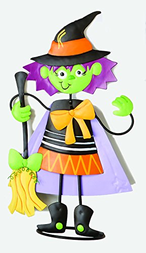 Worth Imports 24'' Metal Standing Witch by Worth Imports