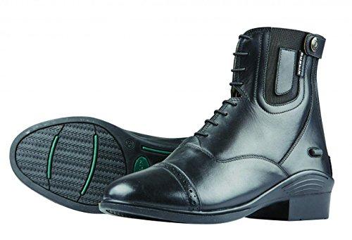 (Dublin Evolution Lace Front Paddock Boots Black Ladies 8 )