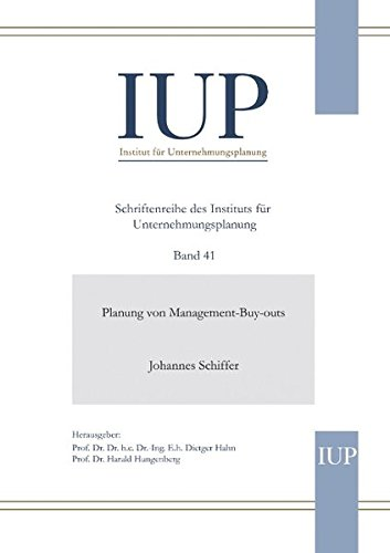 Planung von Management-Buy-outs