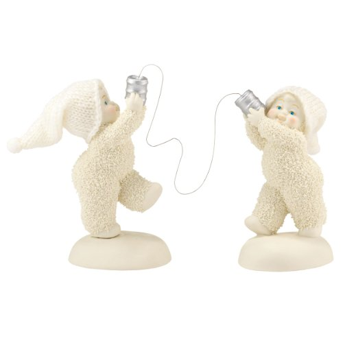 Department 56 Snowbabies Classics Can You Hear Me Now Figurine, 5.5 inch