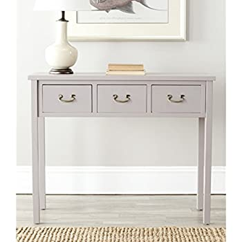 Safavieh American Homes Collection Cindy Console Table, Grey