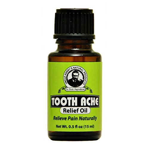 Tooth Ache Relief Oil 0.5oz oil by Uncle Harry's Natural Products (Best Remedy For Toothache Pain)