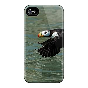 Premium Protection Puffin In Flight Case Cover For Iphone 4/4s- Retail Packaging