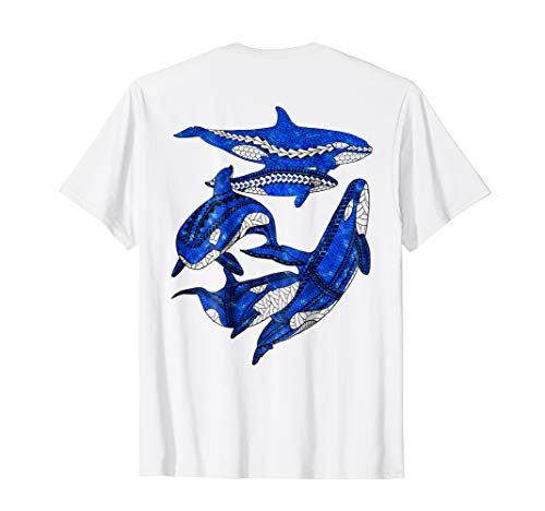 (A Pod of Orca Whales T-Shirt)