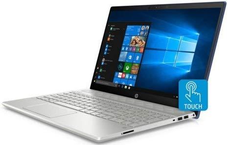 2019 HP Pavilion Flagship 15.6″ Full HD IPS Touchscreen Laptop, Intel Quad Core i7-8550U, 12GB DDR4 Memory, USB-C, Bluetooth, WiFi, Backlit Keyboard, Windows 10, Silver (128GB SSD+1TB HDD)