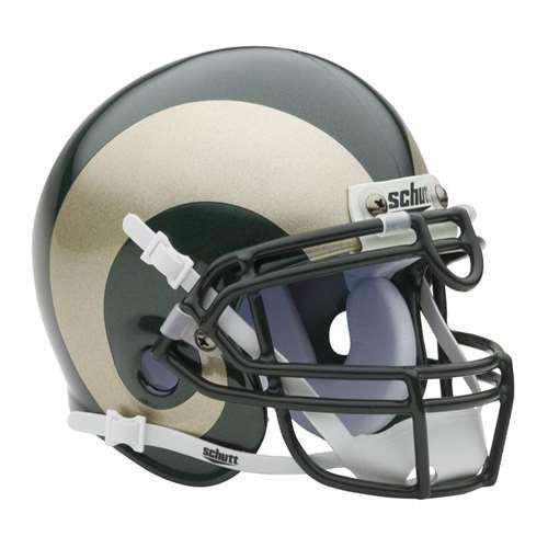 Colorado State Rams Mini Helmet by Schutt - Green by Schutt