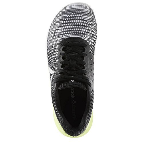 Reebok Women's Crossfit Nano 7, Off-White/Electric Flash, 8 M US