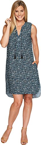 NIC+ZOE Women's Seaglass Tassel Dress Multi Dress by NIC+ZOE