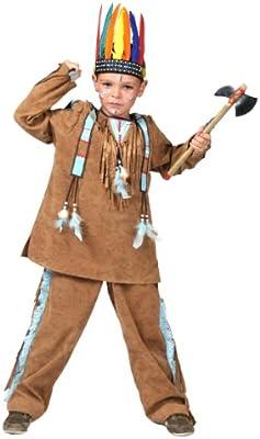 BOY INDIO DISFRAZ 402 118 CM. 128: Amazon.es: Juguetes y juegos