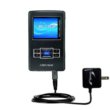Gomadic Intelligent Compact AC Home Wall Charger suitable...