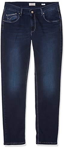 Buffies Donna With 334 Jeans Pioneer Blue Used Blu Dark blue Sally OwFqx6gw