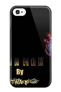 New Diy Design Iron Man For Iphone 4/4s Cases Comfortable For Lovers And Friends For Christmas Gifts by icecream design