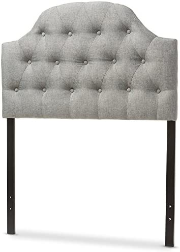 home, kitchen, furniture, bedroom furniture, beds, frames, bases, headboards, footboards,  headboards 1 image Baxton Studio Maugier Modern and Contemporary Grey Fabric promotion