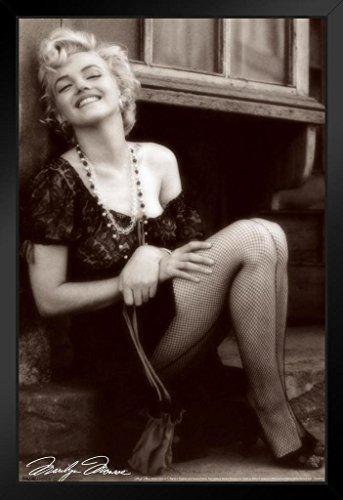 (Pyramid America Marilyn Monroe Fishnets Movie Framed Poster 14x20)