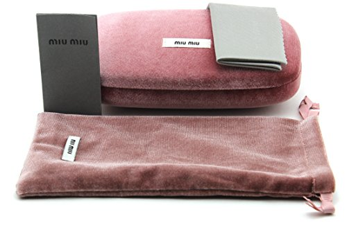 New Original Miu Miu Sunglasses Eyeglasses Hard Case - Sunglass Miu Miu