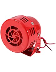 Auto claxon, alarm, auto-luchtaanslag, sirene hoorn, auto, vrachtwagen, motor, aangedreven alarm, rood