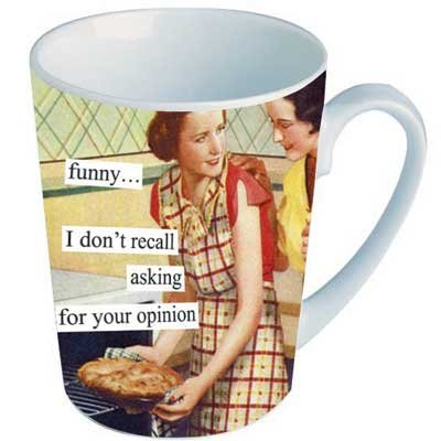 Anne Taintor Mug Cup Retro Funny Gift -