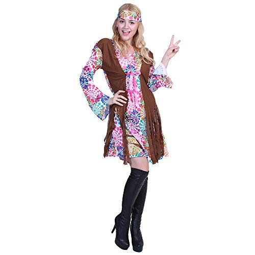 FantastCostumes Women Hippie Love Peace Costume -