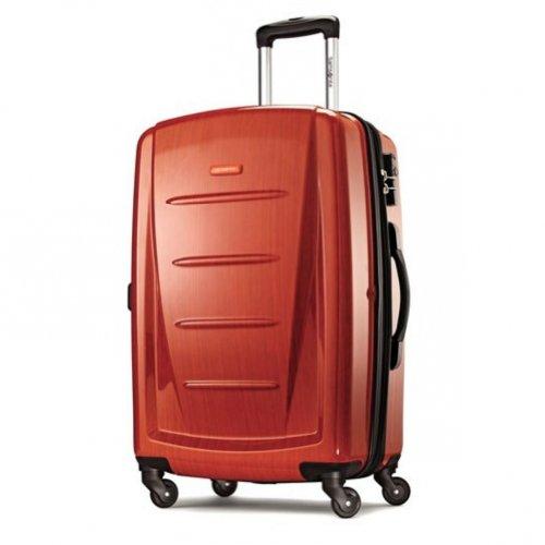 Samsonite Winfield 2 Fashion 24 Spinner (Orange, (Samsonite Winfield Spinner Collection)