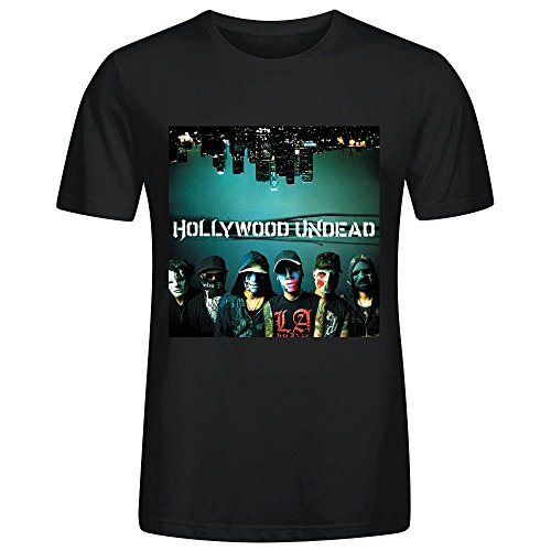 hollywood-undead-swan-songs-graphic-t-shirts-for-mens-round-neck-black