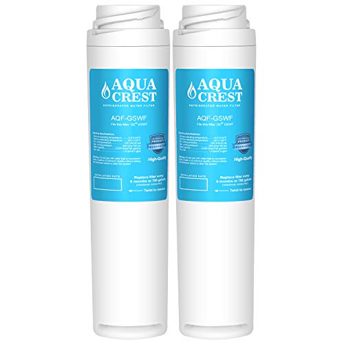 AQUACREST Refrigerator Water Filter, Compatible with GE GSWF
