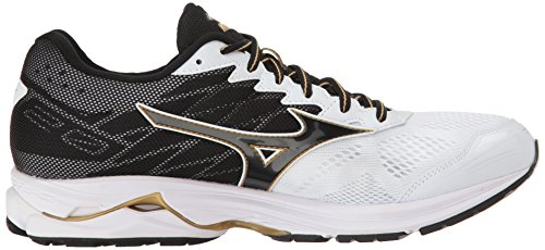 Wave White Mens 20 Black Gold Rider Mizuno vqU4Rwx