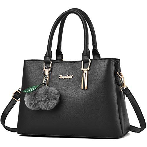 Pryobept Women Handbags Top Handle Satchel Purses Shoulder Tote Bags