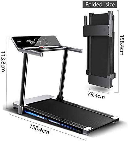 Treadmill Home Treadmill Folding Motorised Treadmill Magnetic Levitation Treadmill, Folding Indoor Multifunctional Ultra-quiet Fitness Equipment Walking Treadmill for Home And Office Cardio Training 8