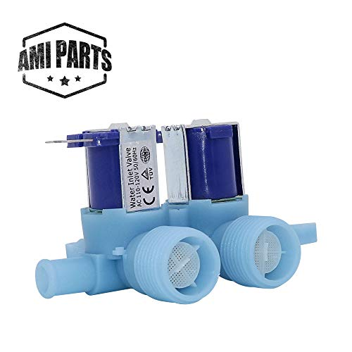 AMI PARTS WH13X10024 Dual Water Inlet Valve Works with General Electric, Hotpoint Washer