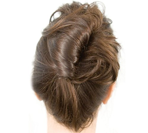Mia French Twister-French Twist And Updo Styling Tool That Makes French Twisting Simple-Large Size For Long and/or Thick Hair-Clear Color-PATENTED (French Roll)