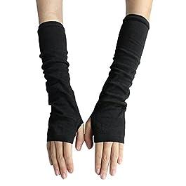 Bluelans® Fashion Women's Knit Wrist Arm Warmer Fingerless Hand Long Mitten Gloves Wamer Long Fingerless Gloves