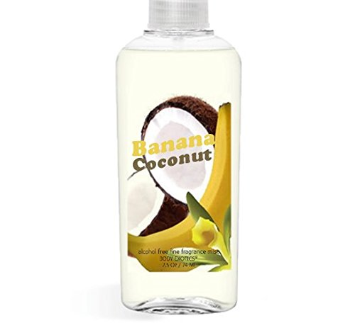 Body Spritz Banana - New! Banana Coconut EDP Perfume Mist by Body Exotics 2.5 Oz 73.9 ml