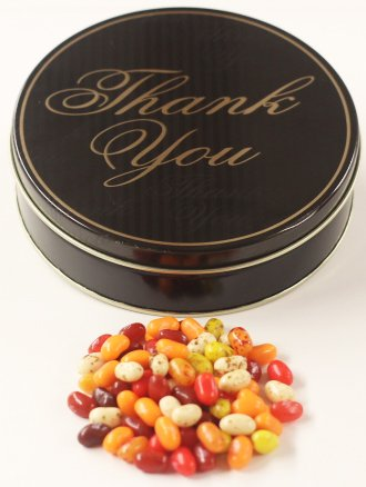 Scott's Cakes Autumn Mix Jelly Belly Jelly Beans in a Mini T